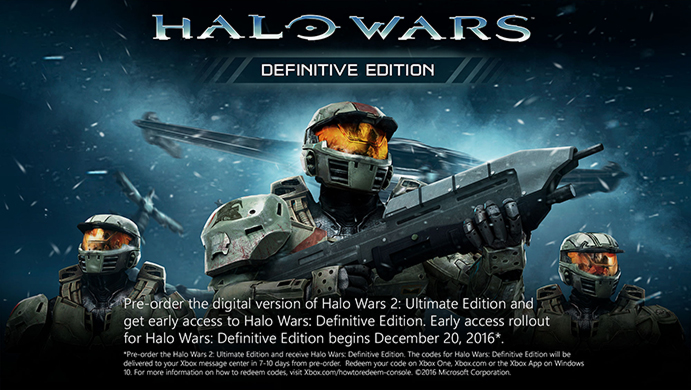 how to get halo wars definitive edition immedietely