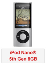 iPod Nano® 5th Gen 8GB (Refurbished by EB Games)