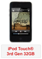 iPod Touch® 3rd Gen 32GB (Refurbished by EB Games)