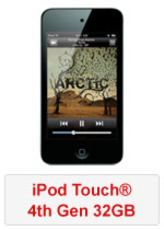 iPod Touch® 4th Gen 32GB (Refurbished by EB Games)