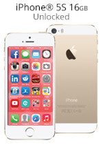 iPhone® 5S 16GB Unlocked - Gold (Refurbished by EB Games)