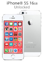 iPhone® 5S 16GB Unlocked - Silver (Refurbished by EB Games)
