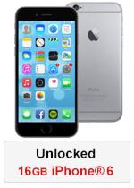 iPhone® 6 16GB Unlocked - Space Grey (Refurbished by EB Games)