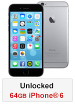 iPhone® 6 64GB Unlocked - Space Grey (Refurbished by EB Games)