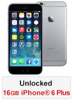 iPhone® 6 Plus 16GB Unlocked - Space Grey (Refurbished by EB Games)