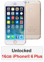 iPhone® 6 Plus 16GB Unlocked - Gold (Refurbished by EB Games)
