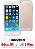 iPhone® 6 Plus 64GB Unlocked - Gold (Refurbished by EB Games)