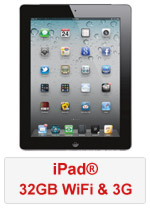iPad® 32GB WiFi and 3G (Refurbished by EB Games)