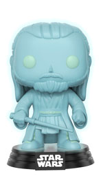 Star Wars - 40th Anniversary - Qui-Gon Jinn Holographic Pop! Vinyl Figure